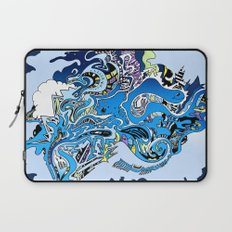 Swimming in the mind Laptop Sleeve