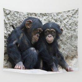 Chimpanzee 002 Wall Tapestry