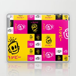 HAPPY Japanese Laptop & iPad Skin