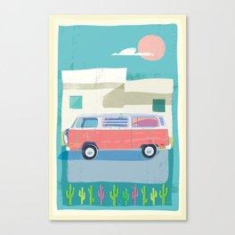 Baja 1977 Canvas Print