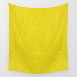 Citrine - yellow - Modern Vector Seamless Pattern Wall Tapestry