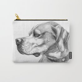 Pointer Dog Portrait G037 Carry-All Pouch
