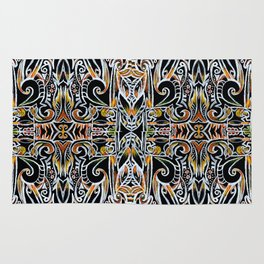 Feather Flames Rug