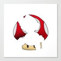 super mario Canvas Prints featuring Super Mario by SEANLAR94