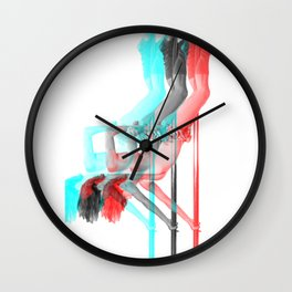 Pole Dance Sweet 3D Inversion Wall Clock