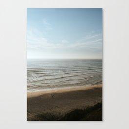 Surf along dreamy  Nazaré I Portugal travel I Art Print Portugal I Coastal beach photography Canvas Print