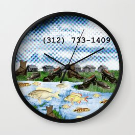 CALL PAYLESS Wall Clock
