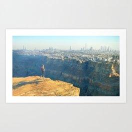Earth 3015 Art Print