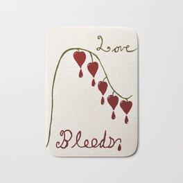Love Bleeds - Bleeding Heart Bath Mat