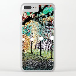 A Night in the Park Clear iPhone Case