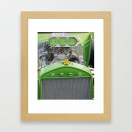 F.R.O.G. Framed Art Print