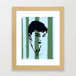 Audrey 7 Framed Art Print