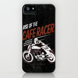 Rise of the Cafe Racer II iPhone Case