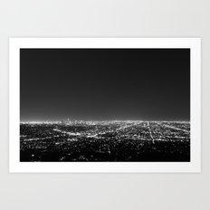LA Lights Art Print