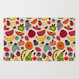 Fruity pattern Rug