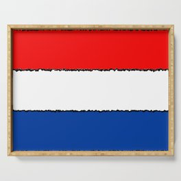 Fancy Flag: The Netherlands Serving Tray