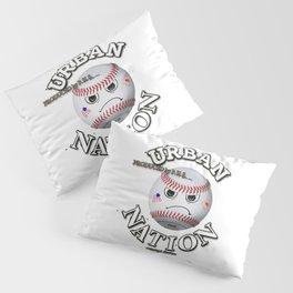 Baseball fun character Pillow Sham