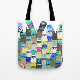 Snow? No Prob-Llama Alpaca My Board Tote Bag