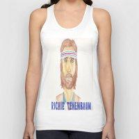 tenenbaum Tank Tops featuring richie tenenbaum by steffaloo