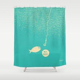 Fish & Hook Shower Curtain