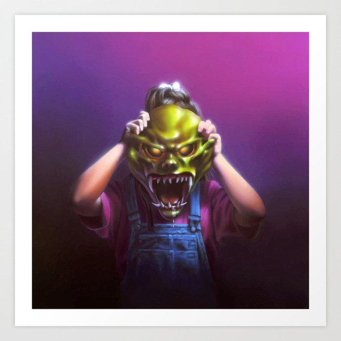 The Haunted Mask Kunstdrucke