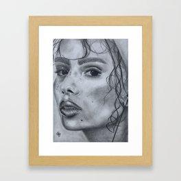 Zoe Kravitz Framed Art Print
