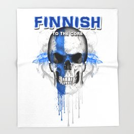 To The Core Collection: Finland Throw Blanket
