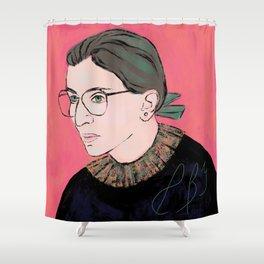 Ruth Bader Ginsburg Shower Curtain