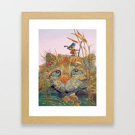 The case on the hunt Framed Art Print