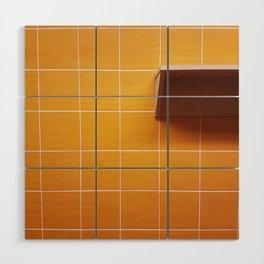 Orange Crush Wood Wall Art