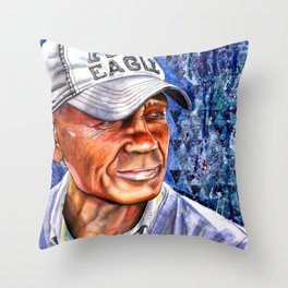 Shoe Shine Throw Pillow