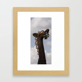 Viking Dragon Framed Art Print