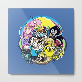 What Time It Is? Metal Print