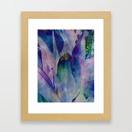 Abstract Tulip Framed Art Print