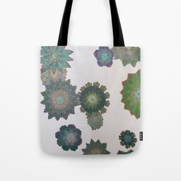 Growing Succulents Tote Bag