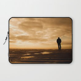 Watching the ships go by Laptop Sleeve