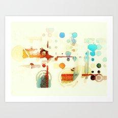 The Quiet Art Print