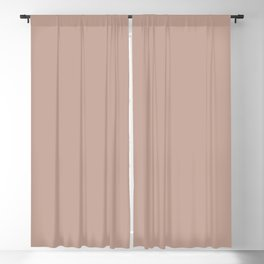 Dark Rose Pink Solid Color Pairs with Sherwin Williams Alive 2020 Forecast Colors Sandbank Pink Blackout Curtain