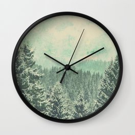 Fading dreams Wall Clock