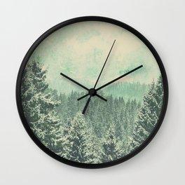 Fading dreams Wall Clock