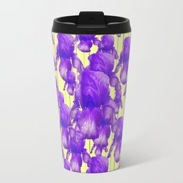 I LOVE PURPLE IRIS Travel Mug