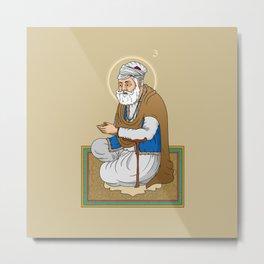 Sri Guru Amar Das Ji Metal Print
