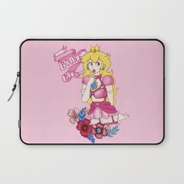 BAD AND BOUJEE Princess Peach Laptop Sleeve