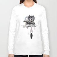 vespa Long Sleeve T-shirts featuring VESPA by tonadisseny