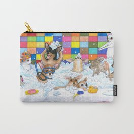 Chihuahua in Bath Carry-All Pouch
