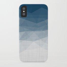 Imperial Topaz - Geometric Triangles Minimalism iPhone Case