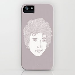Bob Dylan - You don't need a weather man iPhone Case