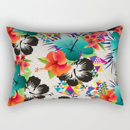 tropical summer Rectangular Pillow