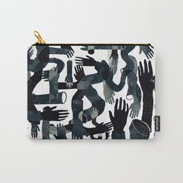 Dark Hands Carry-All Pouch