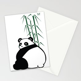 Big Butt Panda Stationery Cards